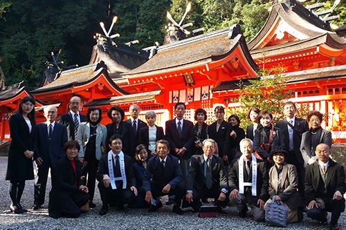 神社参拝研修旅行